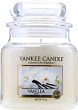 Düfte, Parfümerie und Kosmetik Duftkerze im Glas Vanilla - Yankee Candle Vanilla Jar