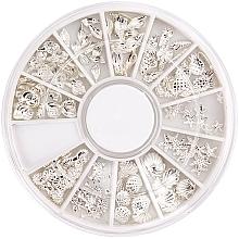 Düfte, Parfümerie und Kosmetik Nageldekoration Summer Silver - Peggy Sage Carousel For Nail Decorations Summer Silver