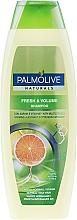 """Düfte, Parfümerie und Kosmetik Erfrischendes Volumenshampoo für normales und fettiges Haar """"Zitrusfrüchteund Vitamine"""" - Palmolive Naturals Fresh & Volume Shampoo"""