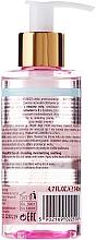 Gesichtsreinigungslotion mit Rosenöl, Hyaluronsäure und Vitaminen C & E - Bielenda Rose Care Cleansing Oil — Bild N2