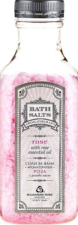 Badesalz mit Rosenöl und Rosenblüten - Bulgarian Rose Bath Salts Rose — Bild N1