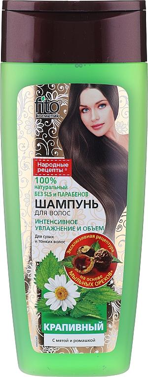 Shampoo für trockenes und dünnes Haar mit Brennnesselextrakt - Fito Kosmetik