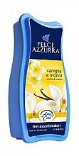 Düfte, Parfümerie und Kosmetik Raumduft-Gel Vanille und Monoi - Felce Azzurra Gel Air Freshener Vanilla & Monoi