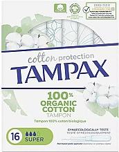 Düfte, Parfümerie und Kosmetik Tampons mit Applikator 16 St. - Tampax Cotton Protection Super