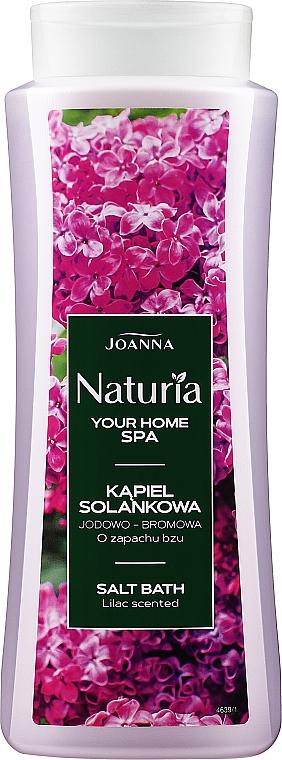 Badesalz mit Fliederduft - Joanna Nuturia Body Spa Salt Bath Lilac Scented