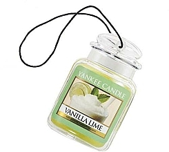 Düfte, Parfümerie und Kosmetik Auto-Lufterfrischer Vanilla Lime - Yankee Candle Vanilla Lime Car Jar Ultimate