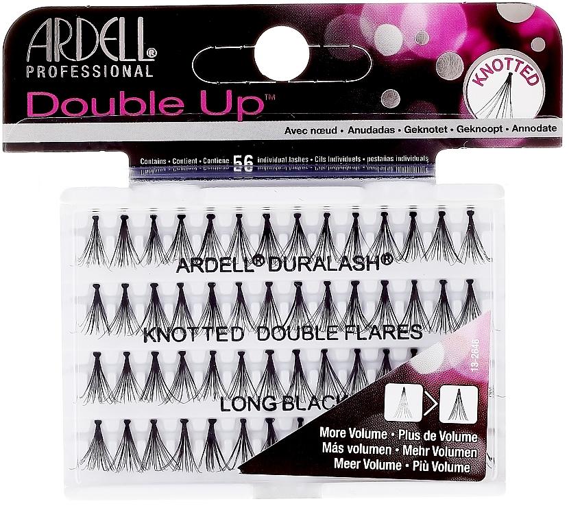 Wimpernbüschel-Set - Ardell Double Up Long Black Lashes