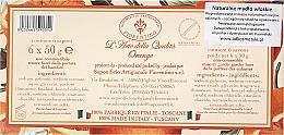 Naturseifen Geschenkset 6 St. - Saponificio Artigianale Fiorentino Orange (6x50g) — Bild N3
