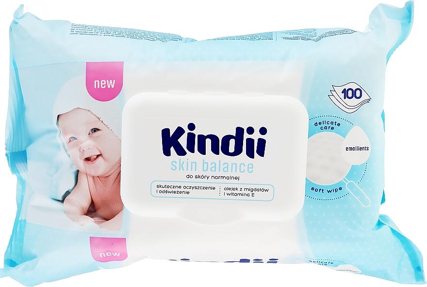 Feuchttücher für Kinder 100 St. - Kindii Skin Balance