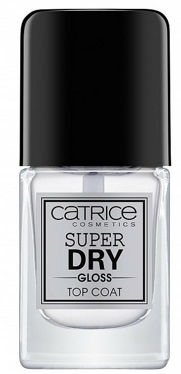 Schnelltrocknender Nagelüberlack - Catrice Super Dry Gloss Top Coat