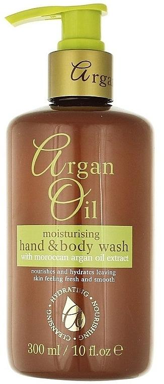 Flüssigseife für Körper und Hand mit Arganöl - Xpel Marketing Ltd Argan Oil Moisturizing Hand Body Wash — Bild N1