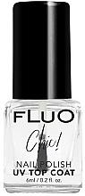 Düfte, Parfümerie und Kosmetik Glänzender Nagelüberlack mit UV-Filter - Constance Carroll Fluo Chic UV Top Coat