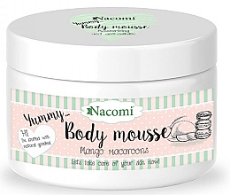 "Düfte, Parfümerie und Kosmetik Modellierende Körpermousse ""Mango Macaroons"" - Nacomi Body Mousse"