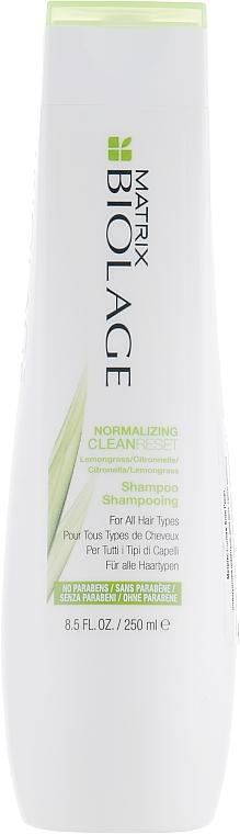 Normalisierendes Shampoo mit Zitronengras für alle Haartypen - Biolage Normalizing CleanReset Shampoo