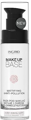 Mattierende Make-Up Base - Ingrid Cosmetics Make-up Base Mattifying & Anti-Pollution