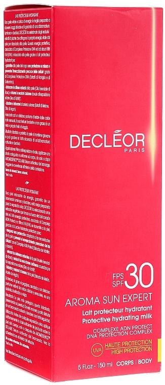 Sonnenschutzmilch mit Tahiti-Vanille und Rosenöl SPF 30 - Decleor Aroma Sun Expert Protective Hydrating Milk SPF 30