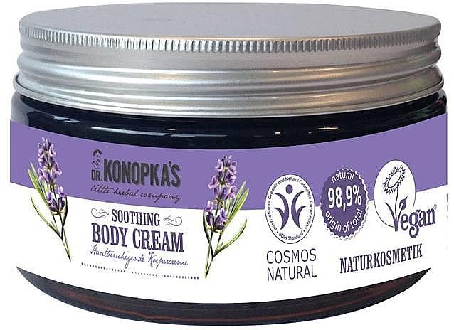 Beruhigende Körpercreme mit Bio Lavendelöl - Dr. Konopka's Soothing Body Cream