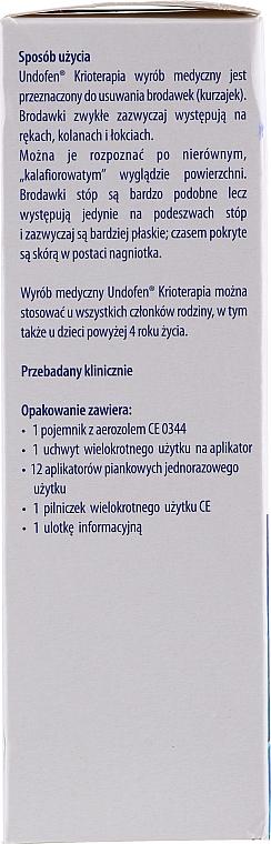 Kryotherapie gegen Warzen - Undofen Krioterapia — Bild N2