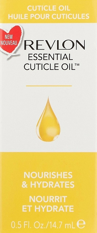 Nährendes und feuchtigkeitsspendendes Nagelhautöl - Revlon Essential Cuticle Oil Nail Care