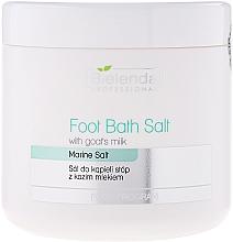 Düfte, Parfümerie und Kosmetik Fußbadesalz mit Ziegenmilch - Bielenda Professional Foot Bath Salt With Goat's Milk