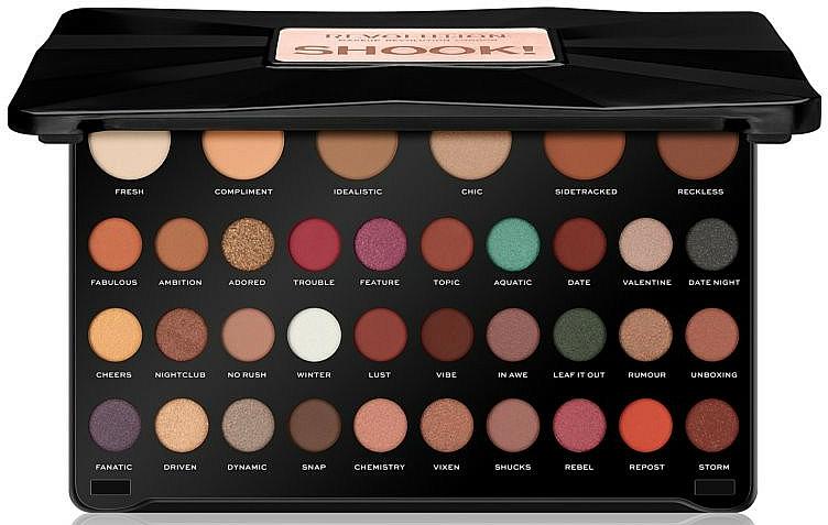 Lidschattenpalette - Makeup Revolution 36 Shook Eyeshadow Palette