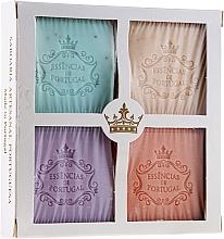Düfte, Parfümerie und Kosmetik Naturseifen-Geschenkset - Essencias De Portugal Aromas Collection (4x80g)