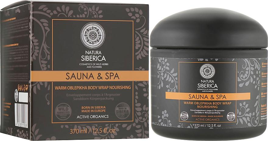 Feuchtigkeitsspendende Körpermaske mit Sanddornöl - Natura Siberica Sauna&Spa