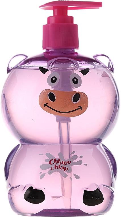 Bade- und Duschgel mit Kaugummiduft für Kinder - Chlapu Chlap Bath & Shower Gel