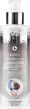 Düfte, Parfümerie und Kosmetik Feuchtigkeitsspendende Hand- und Körperlotion mit Silberpartikeln - Kabos Shimmering Silver Hand & Body Lotion