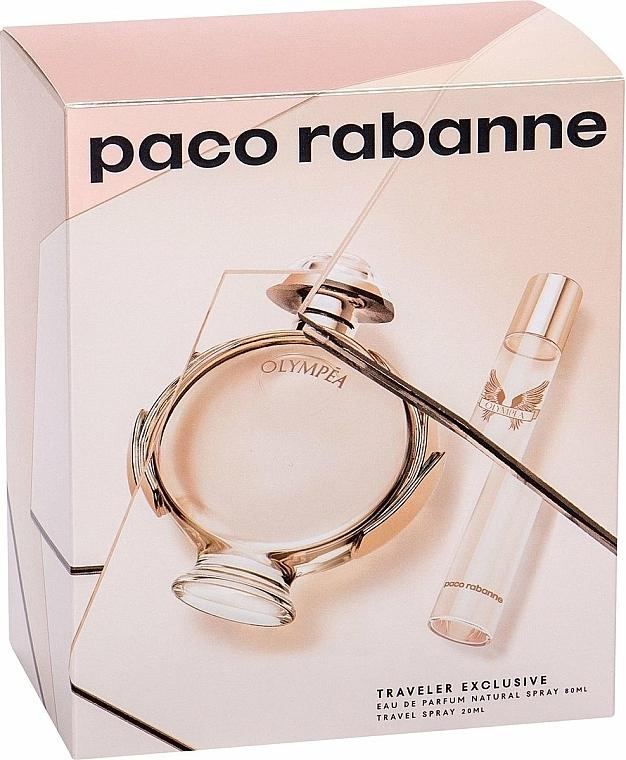 Paco Rabanne Olympea - Duftset (Eau de Parfum 80ml + Eau de Parfum 20ml)