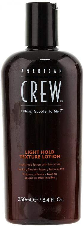 Haarlotion für dünnes und feines Haar - American Crew Classic Light Hold Texture Lotion