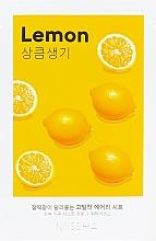 Düfte, Parfümerie und Kosmetik Gesichtsmaske mit Zitronenextrakt - Missha Airy Fit Lemon Sheet Mask