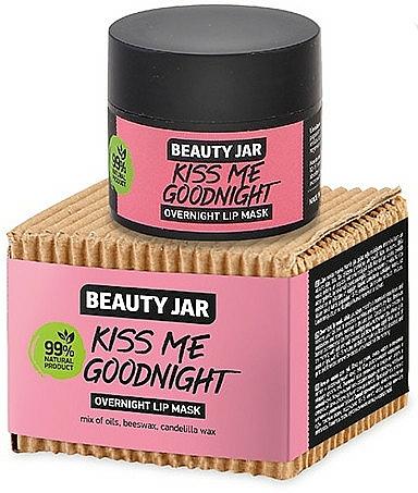 Lippenmaske für die Nacht - Beauty Jar Kiss Me Goodnight Overnight Lip Mask