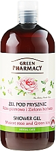 "Düfte, Parfümerie und Kosmetik Duschgel ""Muscat Rose und Grüner Tee"" - Green Pharmacy"