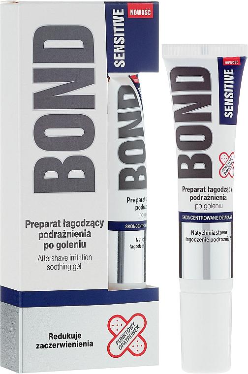 Beruhigendes After Shave Gel für empfindliche Haut - Bond Sensitive Aftershave Irritation Soothing Gel