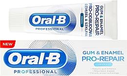 Düfte, Parfümerie und Kosmetik Regenerierende Zahnpasta für Zahnfleisch und -schmelz - Oral-B Professional Gum & Enamel Pro-Repair Original