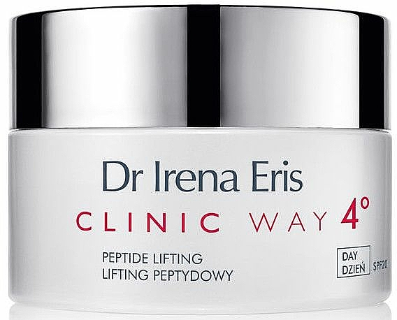 Straffende Anti-Falten Tagescreme mit Peptiden LSF 20 - Dr Irena Eris Clinic Way 4° anti-wrinkle care — Bild N1