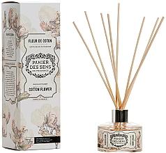 Düfte, Parfümerie und Kosmetik Aroma-Diffusor mit Duftholzstäbchen Cotton Flower - Panier Des Sens Cotton Flower Reed Diffuser
