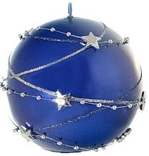 Düfte, Parfümerie und Kosmetik Dekorative Kerze in Kugelform blau 10 cm - Artman Christmas Garland