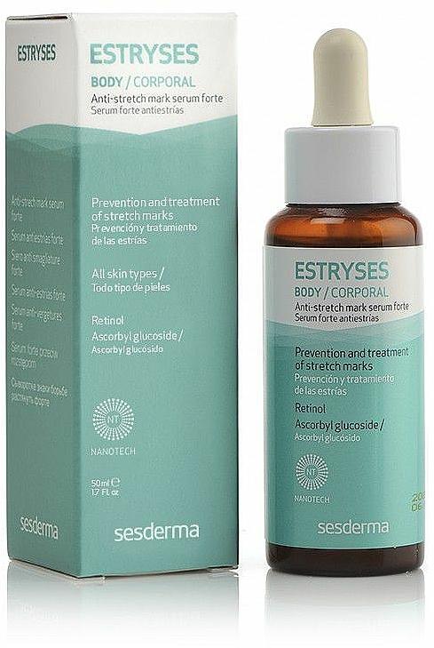 Körperserum gegen Dehnungsstreifen - SesDerma Laboratories Estryses Anti-stretch Mark Serum Forte — Bild N1