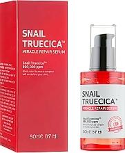 Düfte, Parfümerie und Kosmetik Regenerierendes Gesichtsserum mit Schneckenextrakt - Some By Mi Snail Truecica Miracle Repair Serum