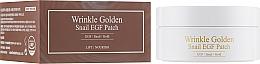 Düfte, Parfümerie und Kosmetik Hydrogel Augenpatches mit Goldpartikeln und Schneckenmucin - The Skin House Wrinkle Golden Snail EGF Patch