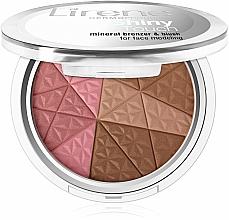 Düfte, Parfümerie und Kosmetik Gesichtsbronzer - Lirene Shiny Touch Mineral Bronzer & Blush