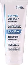 Düfte, Parfümerie und Kosmetik Aufweichende Körper- und Gesichtscreme für sehr trockene und atopische Haut - Ducray Dexyane Creme Emolliente Anti-Grattage