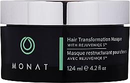 Düfte, Parfümerie und Kosmetik Odbudowująca maska do włosów - Monat Hair Transformation Masque