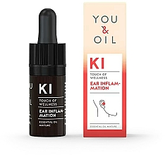 Düfte, Parfümerie und Kosmetik Bioaktive ätherische Ölmischung gegen Ohrenentzündungen - You & Oil KI-Ear Inflammation Touch Of Welness Essential Oil