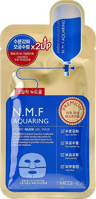 Hydrogel Gesichtsmaske - Mediheal N.M.F Aquaring Hydro Nude Gel Mask