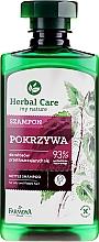 Düfte, Parfümerie und Kosmetik Shampoo für fettiges Haar mit Brennnessel - Farmona Herbal Care Nettle Shampoo