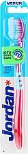 Düfte, Parfümerie und Kosmetik Zahnbürste mittel Target Teeth & Gums rosa-blau - Jordan Target Teeth & Gums Medium