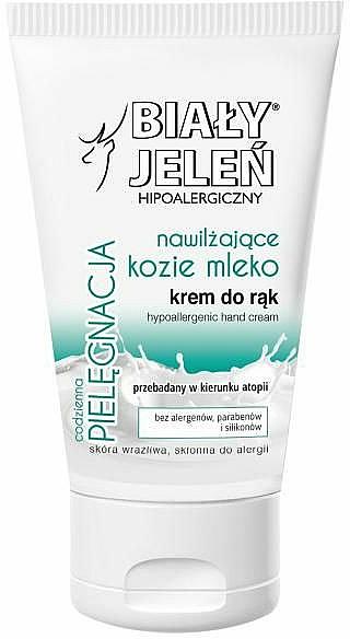 Hypoallergene Handcreme mit Ziegenmilch - Bialy Jelen Hypoallergenic Hand Cream